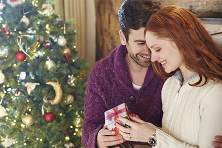 Voor de eerste maal onder de kerstboom