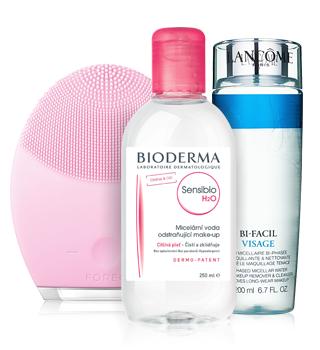 Preparaten voor reiniging van de huid en het verwijderen van make-up