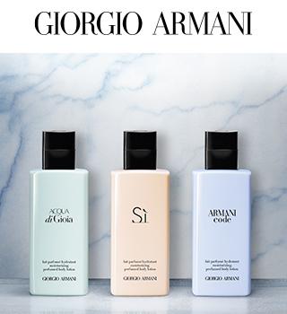 Armani geparfumeerde cosmetica