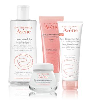 Fundamentele verzorging van de gevoelige huid Avène