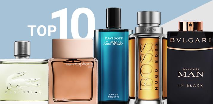 top 10 geuren voor mannen